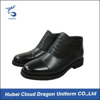 Buy cheap Luxury Security Uniform Accessories Men Dress Comfortable Work Boots For Standing All Day from wholesalers