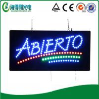 Buy cheap HSA0081 13x31 LED abierto sign and shenzhen led display xxx sex video from wholesalers