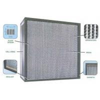 Buy cheap Deep-pleat Hepa filter for clean room product