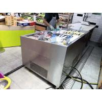 Buy cheap Butcher Shop Fruit Store Deli Food Display Cooler Chiller  Flip Or Non - Flip Cover SS from wholesalers