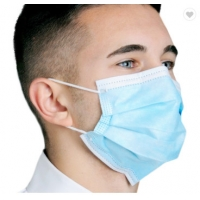 Buy cheap 3 Layer Ply Nonwoven Dust-proof and Fog-proof Earloop Disposable Face Mouth Masks Fast Shipping from wholesalers