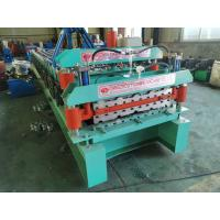 Buy cheap Double Deck Roof Tile 5.5kw Ibr Making Machine With Material Cutting from wholesalers