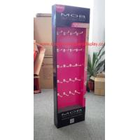 Buy cheap Matt laminated Hang wall display custom cardboard displays SGS from wholesalers