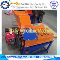 Buy cheap corn stripper and thresher machine,maize peeler and thresher, diesel engined corn outer skin peeling and threshing machi from wholesalers