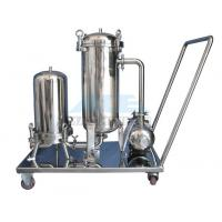 Buy cheap Ss304/Ss316 Cartridge Filter Housing And Bag Filter Housing Bag Filter With Reusable Bags Housing from wholesalers