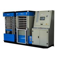 Buy cheap Blue Hydraulic Board Laminating Machine With Single Cylinder For A3 Size Card , 22KW Power from wholesalers