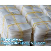 Buy cheap Plastic 2mil PE Flat Poly Bag For Food Packaging, PE Flat Poly Bag With Side Gusset For Food Packaging, Flat Opening OPP from wholesalers