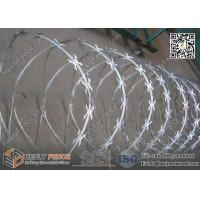 Buy cheap 600mm O.D CBT-60 Butterfly Razor Blade Wire Coil | China Razor Wire Supplier from wholesalers