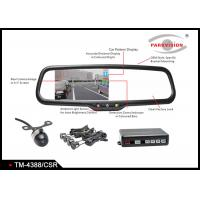 Buy cheap 12V 4.3 Inch Rear View Parking Mirror With PC7070 Color CMOS Image Sensor product