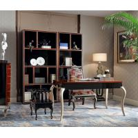 Buy cheap Luxury Furniture Home office Bookcase cabient and Writing desk in Ebony wood glossy painting with Office chairs from wholesalers