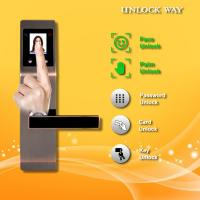 Buy cheap Face And Fingerprint Entry Door Lock With With Anti Peephole Structure from wholesalers