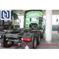 Buy cheap Unloading HOWO A7 6 X 4 TRACTOR TRUCK , PRIME MOVER DOMINEERING WILD Understated Luxury 290HP from wholesalers
