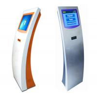 Buy cheap Automatic Bank Wireless Queue Management System Ticket Dispenser Kiosk Unit from wholesalers