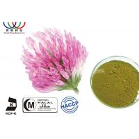 Buy cheap Organic Red Clover Flower Extract , Natural Phytoestrogens Red Clover Isoflavones Extract from wholesalers