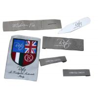 Buy cheap Customized Clothing Woven Labels,Iron On Personalized Garment Label from wholesalers