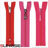Buy cheap 3# 5# nylon riri zippers and zip bag zipper for wholesale from wholesalers