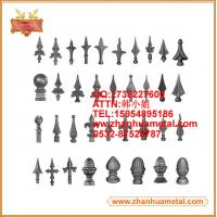 China ornamental spear for garden fence and gate,wrought iron spear,spear points,spearhead on sale