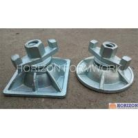 Cast Iron Wing Nut Tie RodCasted Slope Super Plate For Inclined Formwork System