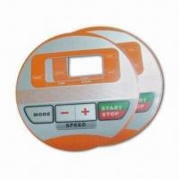 Buy cheap Adhesive Label, Made of GE PET Material, with 35V DC Electrical and 0.1mm Thickness from wholesalers