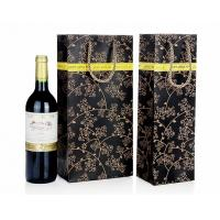 Buy cheap Wine Bottle Gift Bags , Retail Shopping Bags For Grape Wine Packaging from wholesalers