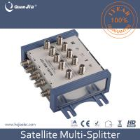 Buy cheap Factory price OEM accepted 5 in 2 way 5-2400mhz satellite signal splitter for CATV and SMATV from wholesalers