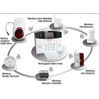 Buy cheap Intelligent GSM Alarm System(YL-007M2B) With LCD Screen, Flash Siren PIR Sensor And Keypad from wholesalers