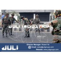 Buy cheap Army security concertina barbed wire from wholesalers