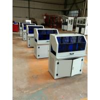 Buy cheap PLC Control Hydraulic PVC Card Cutting Machine PVC Card Size CR80 85.7*54mm product