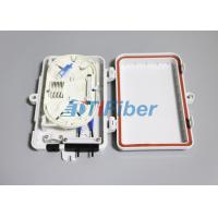 Buy cheap FTTH Mini Outdoor Fiber Optic Distribution Box 1x4 PLC from wholesalers