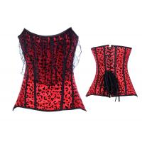 Buy cheap Wholesale - Lace up Steel Corset Bustier from wholesalers