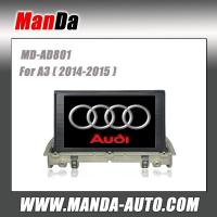 Buy cheap 2 din car radio for Audi A3 (2014-2015) car audio in-dash dvd manufacturer from wholesalers
