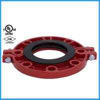 Buy cheap Ductile Iron Pipe Fittings Grooved Flange with FM UL from wholesalers
