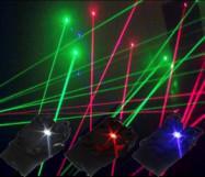 laser gloves(5 pcs laser diode)