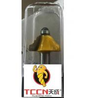 Buy cheap TC0805 12mm Shank Yellow Colour Router Bit Double Roman Ogee Bit With Rubber Protect from wholesalers