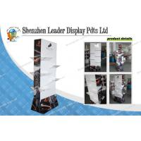 Buy cheap 4C Boots Cardboard Floor Display Stands For Chain Store Promotion from wholesalers