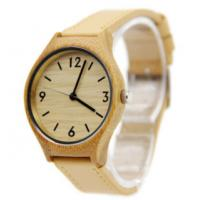 Buy cheap Good quality luxury wholesale custom logo wood bamboo watch from wholesalers