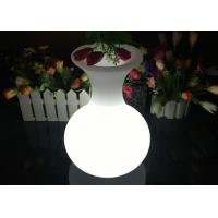 Buy cheap Rechargeable Lighting Vase LED Flower Pots For Table Service , 16 Colors Changing from wholesalers
