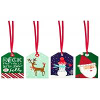 Buy cheap Custm Children'S Christmas Gift Tags Personalized Printable With String Holiday Decoraction from wholesalers