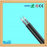 Buy cheap RG6 rg59 rg11 dual coaxial cable cu ccs 1000ft black made in china from wholesalers