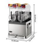 Buy cheap 300W Ice Slush Machine from wholesalers