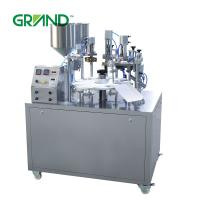 Buy cheap Hand Cream Semi Automatic Tube Filling And Sealing Machine , Plastic Tube Sealing Machine product