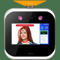 Buy cheap Security Access Control Face Recognition With Function Of Body Temperature Detection from wholesalers