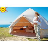 Buy cheap Comfortable Outdoor Canvas Bell Tent 100% Waterproof Cotton Camping Tent from wholesalers