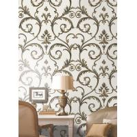Buy cheap Heavy / Deep Embossed Wallpapers , Interior Decorative Wallpaper from wholesalers