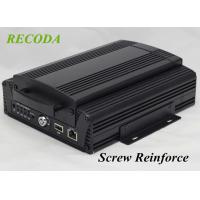 Buy cheap 4G GPS WIFI  1080P AHD 4Ch HDD SD Card HIS Solution H.264 Vehicle mobile dvr product