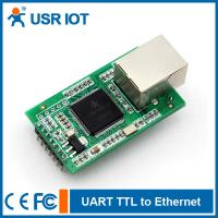 Buy cheap [USR-TCP232-E] Dual Serial port TTL to Ethernet module with DHCP/WEB/Mudbus TCP from wholesalers