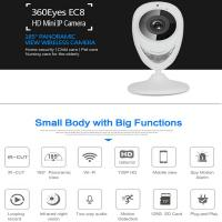 Buy cheap EC8 HD 720P Mini Wifi IP Camera Wireless P2P Baby Monitor Network Remote CCTV product