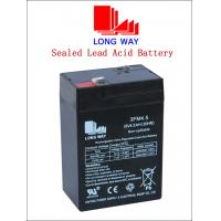 Buy cheap 6volt Bus, UPS, Electric Power, Lighting, Electric Bicycle VRLA Lead Acid Battery UPS Batteries 6V4.5ah from wholesalers