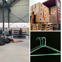 Buy cheap Disposable Modern Thin Clothes Hangers , Laundry Factory Coated Wire Hangers from wholesalers