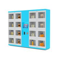 Buy cheap Electronic Lockers Drink Vending Machines For Beverage / Wine / Drink Water from wholesalers